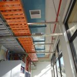 High level ductwork