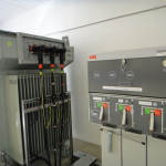 Transformer and HV switchgear