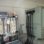 Transformer and LV switchgear