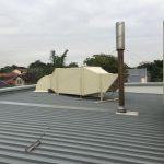 Generator room venltilation discharge