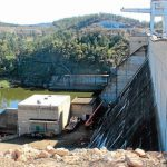 Keepit Dam Wall