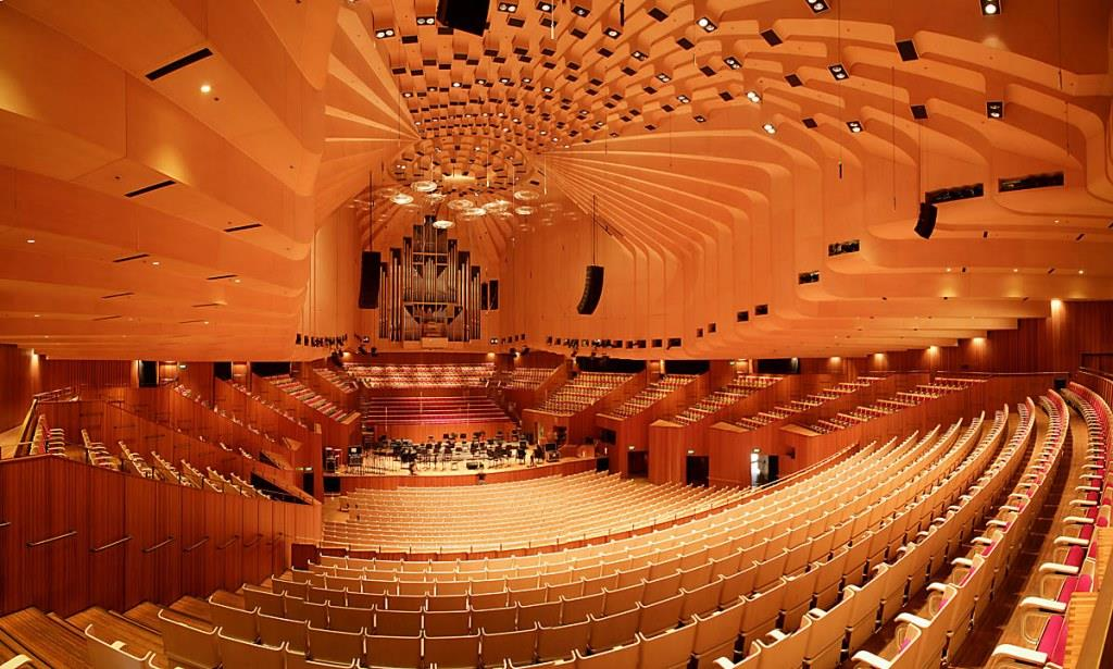 Sydney Opera House Concert Hall High Level Performance