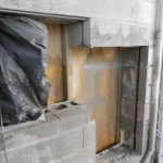 Ductwork wall opening
