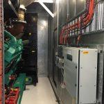 Diesel fuel control generator enclosure