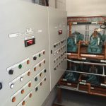 Diesel fuel control panel