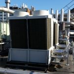 New Chillers on roof