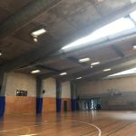 Sports Hall DMX Luminaries  Cages