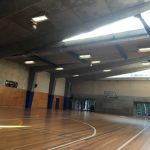 Sports Hall DMX Luminaries  Cages 2