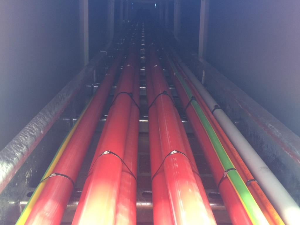 SS cable ties fire rated submain