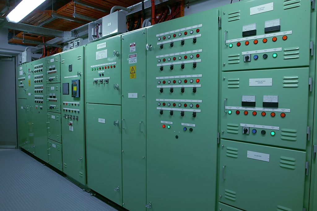 Electrical installation at Telstra by Ryan Wilks